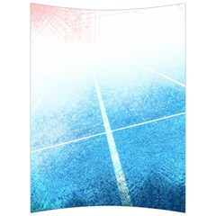 Court Sport Blue Red White Back Support Cushion