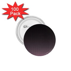 Halftone Background Pattern Black 1 75  Buttons (100 Pack)