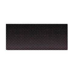 Halftone Background Pattern Black Cosmetic Storage Cases