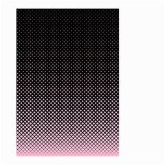 Halftone Background Pattern Black Small Garden Flag (two Sides)