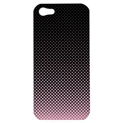 Halftone Background Pattern Black Apple Iphone 5 Hardshell Case
