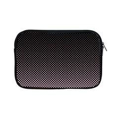 Halftone Background Pattern Black Apple Ipad Mini Zipper Cases