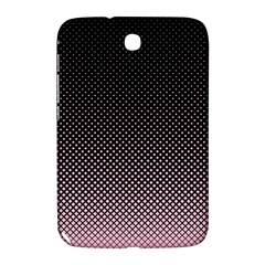 Halftone Background Pattern Black Samsung Galaxy Note 8 0 N5100 Hardshell Case
