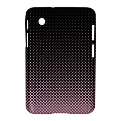 Halftone Background Pattern Black Samsung Galaxy Tab 2 (7 ) P3100 Hardshell Case