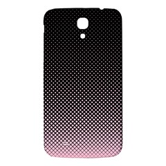 Halftone Background Pattern Black Samsung Galaxy Mega I9200 Hardshell Back Case