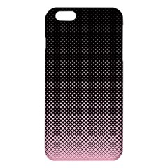Halftone Background Pattern Black Iphone 6 Plus/6s Plus Tpu Case