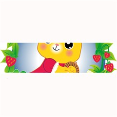 Bear Strawberries Large Bar Mats