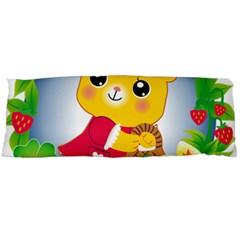 Bear Strawberries Body Pillow Case Dakimakura (two Sides)