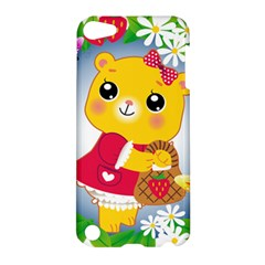 Bear Strawberries Apple Ipod Touch 5 Hardshell Case