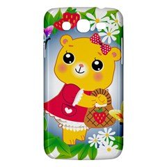Bear Strawberries Samsung Galaxy Mega 5 8 I9152 Hardshell Case