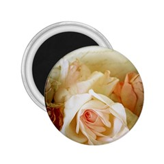 Roses Vintage Playful Romantic 2 25  Magnets