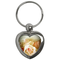 Roses Vintage Playful Romantic Key Chains (heart)