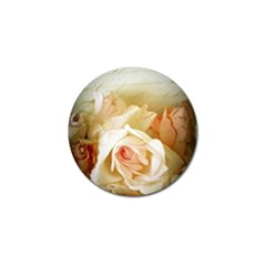 Roses Vintage Playful Romantic Golf Ball Marker