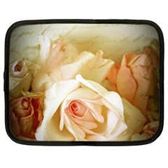 Roses Vintage Playful Romantic Netbook Case (large)