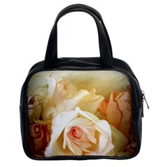 Roses Vintage Playful Romantic Classic Handbags (2 Sides)