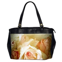 Roses Vintage Playful Romantic Office Handbags (2 Sides)