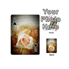 Roses Vintage Playful Romantic Playing Cards 54 (mini)