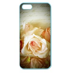 Roses Vintage Playful Romantic Apple Seamless Iphone 5 Case (color)