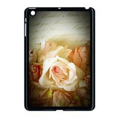 Roses Vintage Playful Romantic Apple Ipad Mini Case (black)