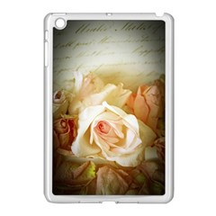 Roses Vintage Playful Romantic Apple Ipad Mini Case (white)