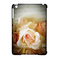 Roses Vintage Playful Romantic Apple Ipad Mini Hardshell Case (compatible With Smart Cover)