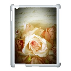 Roses Vintage Playful Romantic Apple Ipad 3/4 Case (white)
