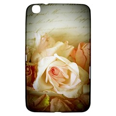 Roses Vintage Playful Romantic Samsung Galaxy Tab 3 (8 ) T3100 Hardshell Case