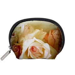 Roses Vintage Playful Romantic Accessory Pouches (small)