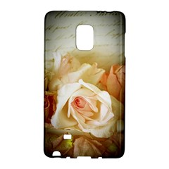 Roses Vintage Playful Romantic Galaxy Note Edge