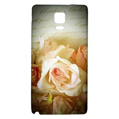Roses Vintage Playful Romantic Galaxy Note 4 Back Case