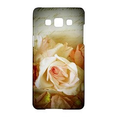 Roses Vintage Playful Romantic Samsung Galaxy A5 Hardshell Case