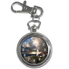 Lighthouse Beacon Light House Key Chain Watches