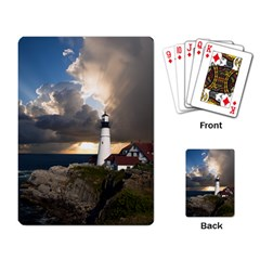 Lighthouse Beacon Light House Playing Card