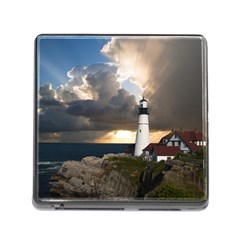 Lighthouse Beacon Light House Memory Card Reader (square)