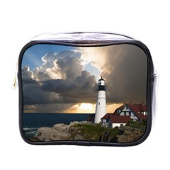 Lighthouse Beacon Light House Mini Toiletries Bags