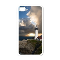 Lighthouse Beacon Light House Apple Iphone 4 Case (white)