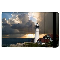 Lighthouse Beacon Light House Apple Ipad 2 Flip Case