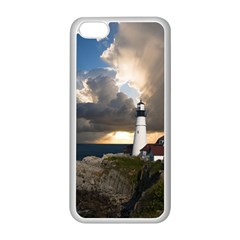 Lighthouse Beacon Light House Apple Iphone 5c Seamless Case (white)