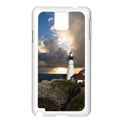 Lighthouse Beacon Light House Samsung Galaxy Note 3 N9005 Case (white)