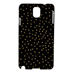 Grunge Pattern Black Triangles Samsung Galaxy Note 3 N9005 Hardshell Case