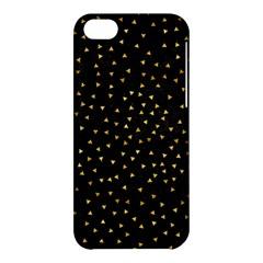 Grunge Pattern Black Triangles Apple Iphone 5c Hardshell Case