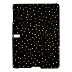 Grunge Pattern Black Triangles Samsung Galaxy Tab S (10 5 ) Hardshell Case