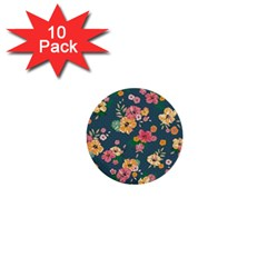 Aloha Hawaii Flower Floral Sexy 1  Mini Buttons (10 Pack)