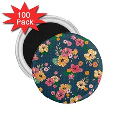 Aloha Hawaii Flower Floral Sexy 2 25  Magnets (100 Pack)