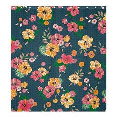 Aloha Hawaii Flower Floral Sexy Shower Curtain 66  X 72  (large)