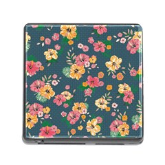 Aloha Hawaii Flower Floral Sexy Memory Card Reader (square)