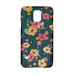 Aloha Hawaii Flower Floral Sexy Samsung Galaxy S5 Hardshell Case