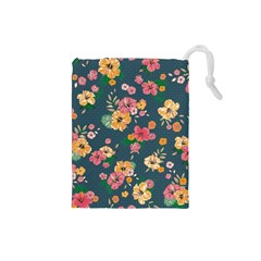 Aloha Hawaii Flower Floral Sexy Drawstring Pouches (small)