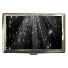 Black Rays Light Stars Space Cigarette Money Cases