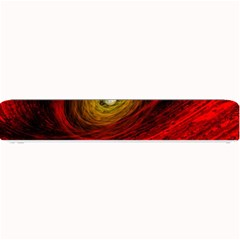 Black Red Space Hole Small Bar Mats